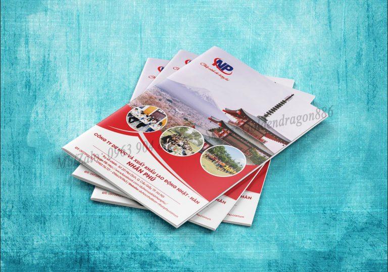 Dịch vụ thiết kế và in nhanh Catalog
